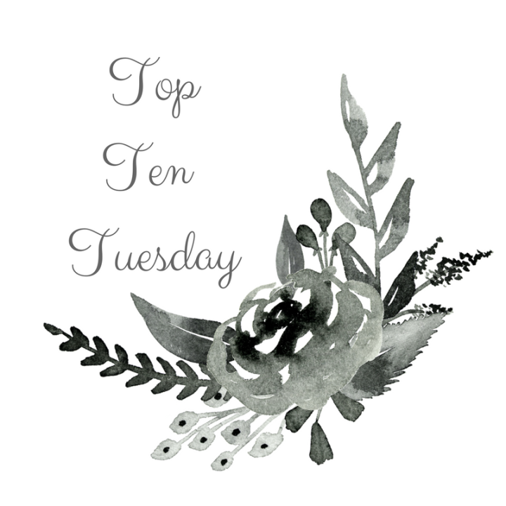 Top Ten Tuesday- Best Books of The Year SoFar!