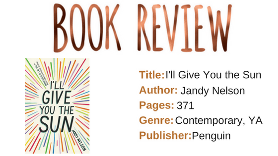 I'll Give You the SunJandy Nelson384Young Adult, Contemporary (1)