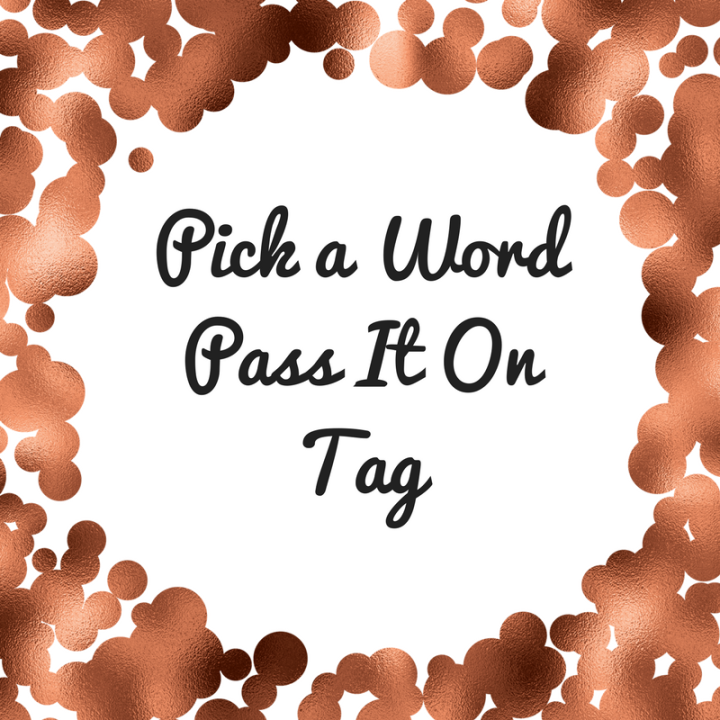 Pick A Word and Pass It OnTag