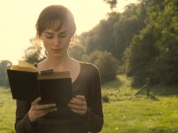 Image result for elizabeth bennet reading