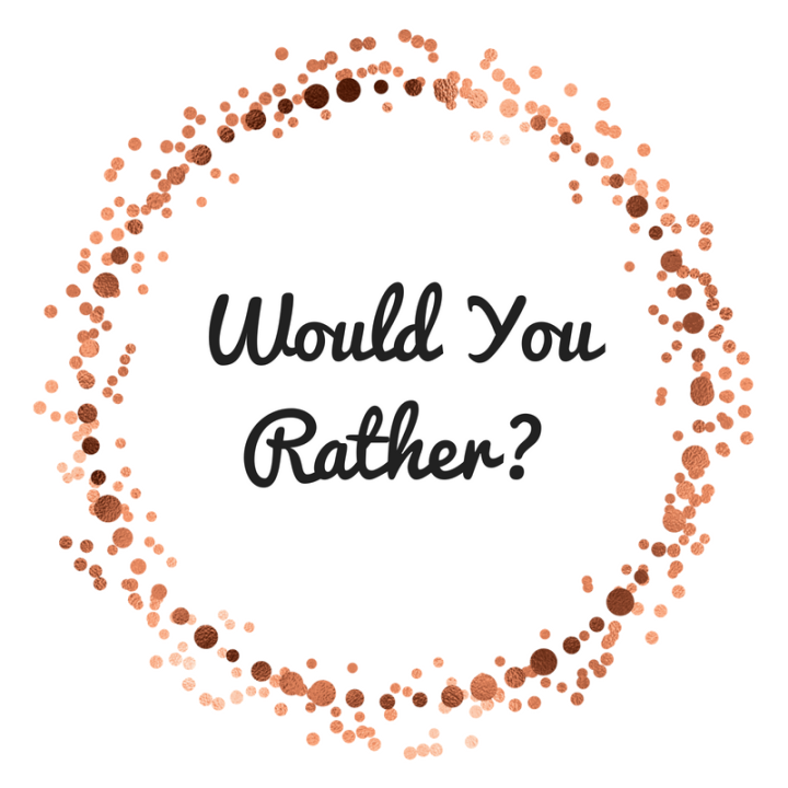 The Hardest Game of 'Would You Rather' for Book Nerds