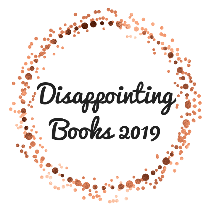 The Most Disappointing Books I Read in2019