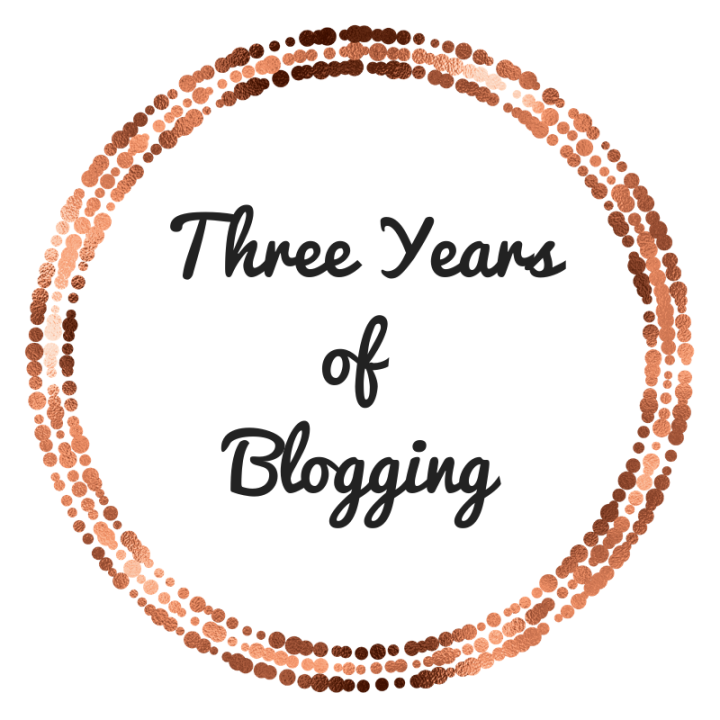 Three Years of blogging + 20 questions to get to know mebetter
